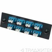 Адаптерная панель для кроссов LAN-FOBM с 8 дуплексными адаптерами SC/OS2