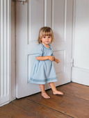 Электронная выкройка Burda - Платье с рукавами реглан для девочки №131 B