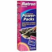 """Гранулированная приманка """"Ratron"""" для борьбы с крысами и мышами, 5 шт х 40 г"""