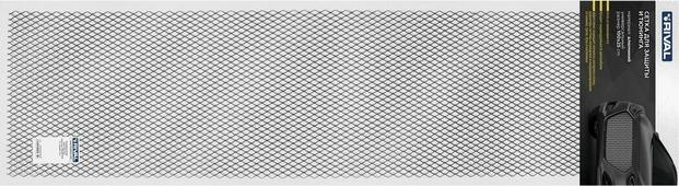 Сетка для защиты радиатора Rival, универсальная, 100 х 25 см, R16, цвет: черный