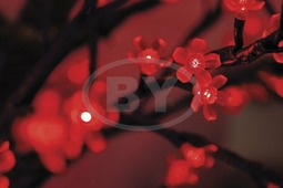 "Светодиодное дерево Neon-night ""Сакура"" красный 2.4 м, Ø 2 м"
