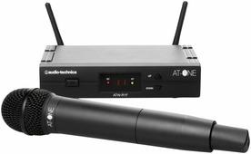 AUDIO-TECHNICA ATW13F - Ручная радиосистема, 4+4 канала UHF с ручным динамическим микрофоном