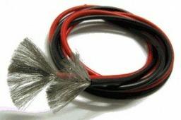 Провод Dualsky в силиконовой оболочке (красный и черный) 12 AWG сечечением 3.3мм2 (по 1 метру)