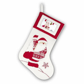 TT73 рамка рождественская Christmas Socks