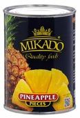 Mikado ананас кусочками в сиропе, 580 мл