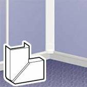 Угол плоский переменный - для мини-плинтусов 32x20. Цвет Белый. Legrand DLPlus (Легранд ДЛПюс). 030273