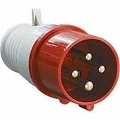IEK Вилка кабельная 16А 3Р+E IР44 переносная 380В 014 (PSR02-016-4)