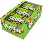 """Skittles """"Кисломикс"""" драже в сахарной глазури, 12 пачек по 38 г"""