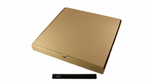 Коробка под пиццу 400*400*40 бурая.9022/155