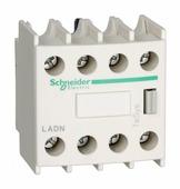 Аксессуары для контакторов Блок дополнительных контактов,4 но Schneider Electric
