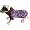 Свитер для собак Ami Play цветы фиолетовые, 54см