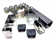 Корн Комплектующие для откатных ворот весом до 400 кг или шириной до 4 м (набор-комплект фурнитуры)