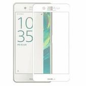 Защитное стекло Aiwo Full Screen Cover 0.3 mm белое Sony Xperia X