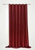 """Штора готовая для гостиной """"Garden"""", на ленте, цвет: бордовый, 200 х 260 см. С 536097 V108"""
