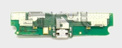 Разъем microUSB на плате для Alcatel 6036Y, с вибромотором, SBH60X00000D