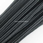 Шнур сутажный, ширина 2,5 мм, Черный