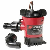 Помпа трюмная погружная Johnson Pump Cartridge Bilge L450 32-1450-01 12 В 40 л/мин 19 мм со штуцерами Dura-Port