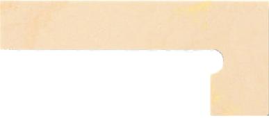 Плитка из керамогранита VENATTO Плинтус для ступеней правый Pulido Zanquin Drch. Beige Maya 19×42.4