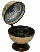 """Настольный глобус-бар """"Сокровища древнего мира"""" d=42 см 47203"""