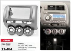 Переходная рамка для установки магнитолы CARAV 11-464 - HONDA Fit, Jazz 2002-2008