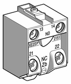 Лампы, кнопки, звонки, переключатели Schneider Electric Концевой выключатель 1НО+1НЗ Schneider Electric, XE2SP2151