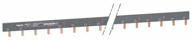 Шинка гребенчатая доп.+1п (auxl1…) 57 мод.18мм 100а разрезаемая Schneider Electric, A9XAH157