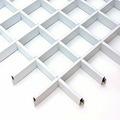 Потолок грильято Люмсвет белый матовый 200*200*40 мм