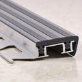 Профиль алюминиевый закладной, с резиновой вставкой 270 см