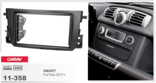 CARAV 11-358 - SMART ForTwo 2011+