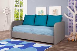 Кровать Vegas Локи 80x200, текстиль, серый