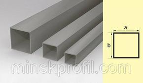Труба алюминиевая квадратная 25х25 300 см