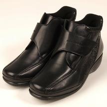 Ботинки женские повышенной комфортности Varomed Florett VF 03871 60, черные (р.39)