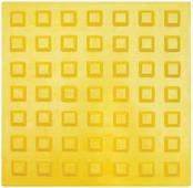 Тактильная плитка 300х300х8.7 Резиновая - квадратное рифление