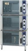 Комплект из 3 жарочных шкафов Hackman Metos Chef 220 + подставка 2908 морская версия