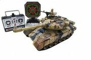 House Hold Радиоуправляемый танковый бой Household Russia T-90 Владимир с мишенью