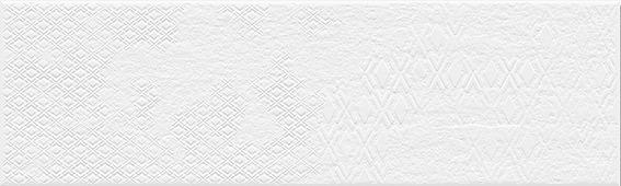 Клинкер Belani Фасадная плитка ТЕО микс белый (глянцевый) 7,5Х25 СМ
