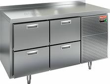 Стол холодильный HICOLD GN 22/TN (внутренний агрегат)