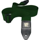 Ernie Ball 4050 Ремень гитарный полиэстер/темно-зеленый