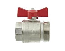 """Thermotech Шаровой клапан 2"""", плоское соединение (арт. 50501) для теплого пола"""