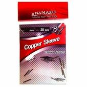 Трубка обжимная NAMAZU Copper Sleeve 1,0мм