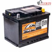 Аккумулятор для легковых автомобилей АКОМ AKOM Автофан 6СТ-60e (60 A/h), 470А R+