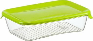 """Контейнер для продуктов Idea """"Практик"""", цвет: салатовый, 0,5 л"""