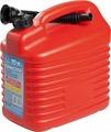 Канистра для ГСМ Мамонт, с заливным устройством 5 мм, красный, 10 л