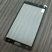 для Samsung Galaxy Note 4 (N9100) Защитное стекло Ainy Full Screen Cover 2,5D 0,33 мм черное