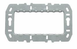 N2474.9 Суппорт стальной для рамок итальянского стандарта, на 4 модуля, без монтажных лапок ABB, 2CLA247490N1001