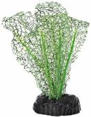 """Растение для аквариума Barbus """"Апоногетон натанс"""", шелковое, цвет: зеленый, высота 10 см"""