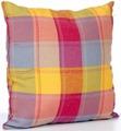 """Подушка декоративная KauffOrt """"Гватемала"""", цвет: голубой, оранжевый, розовый, 39 х 39 см. 3122106679"""
