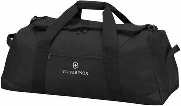Сумки VICTORINOX 31375601 Сумка спортивная VICTORINOX Extra-Large Travel Duffel, чёрная, полиэстер/рипстоп, 91x38x36 см, 127 л