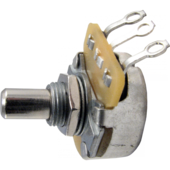 Ernie Ball 6382 потенциометр 250К, ось (цилиндр), длина втулки 6,35 мм