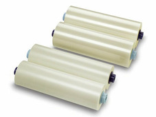 """Рулонная пленка для ламинирования, Глянцевая, 75 мкм, 330 мм, 1000 м, 3"""" (77 мм)"""